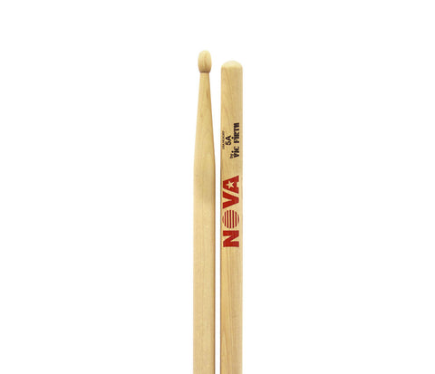 Vic Firth Nova 5A Drumsticks - Natural Wood Tip