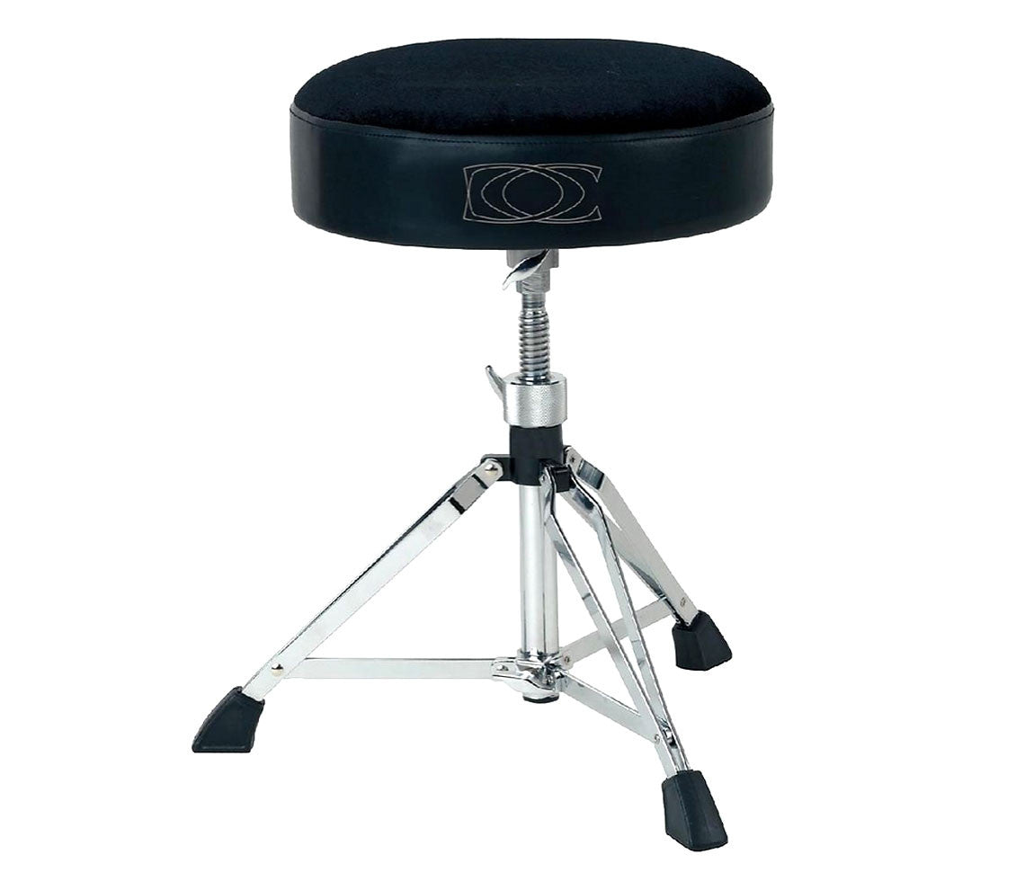 GEWApure Double Braced Round Top Drum Throne