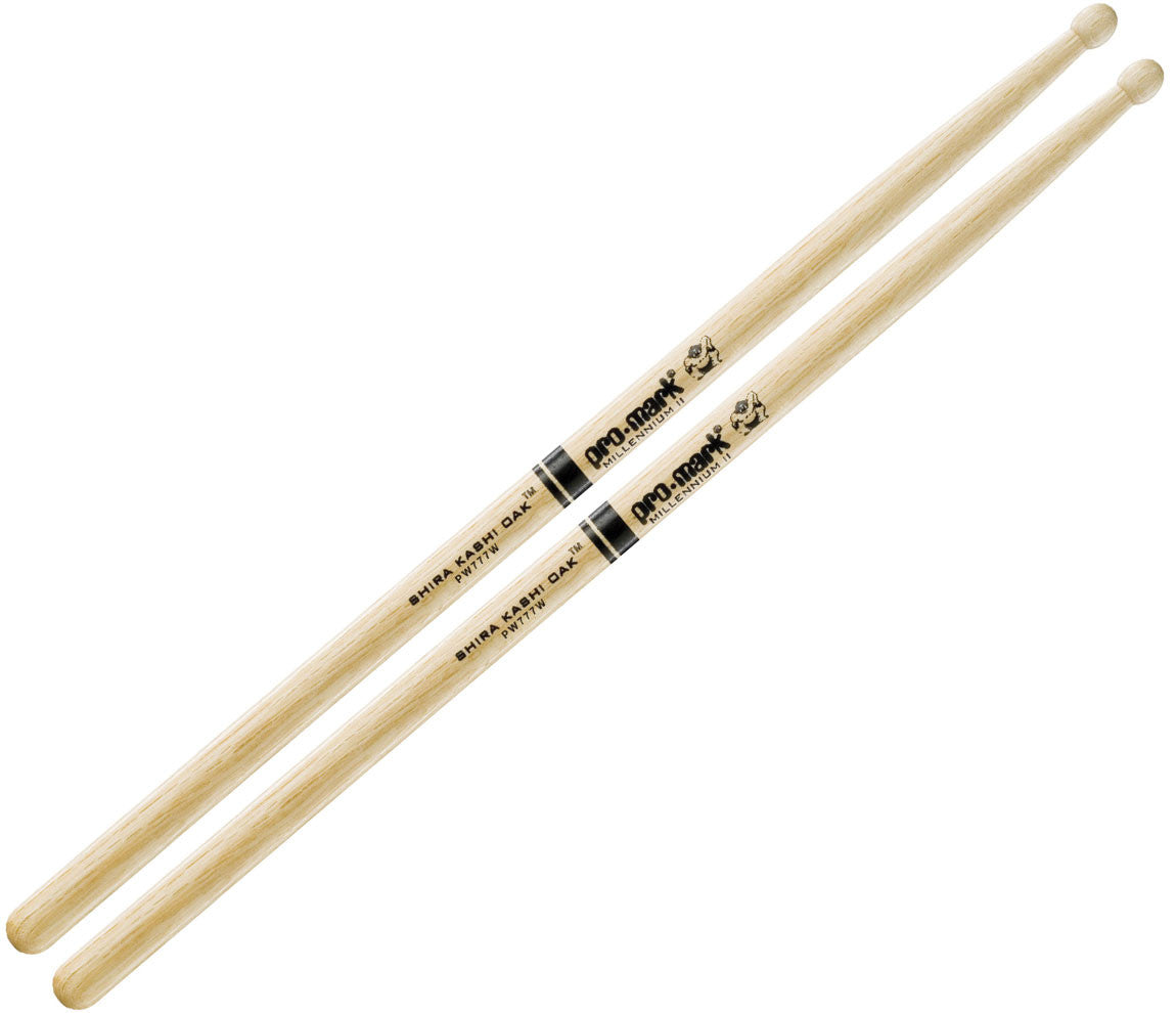 Pro-Mark Shira Kashi Oak 777 Wood Tip Drumstick