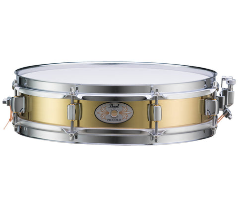 "Pearl 13"" x 3"" Brass Piccolo Snare Drum"