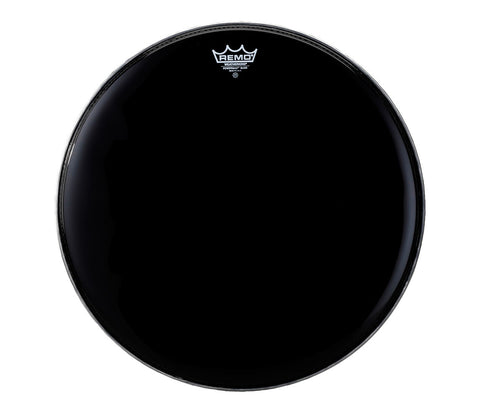 "Remo 20"" Powermax Ebony Marching Bass Drumhead"