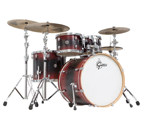 Gretsch Shellpack Catalina Ash in Red/Black/Red Burst