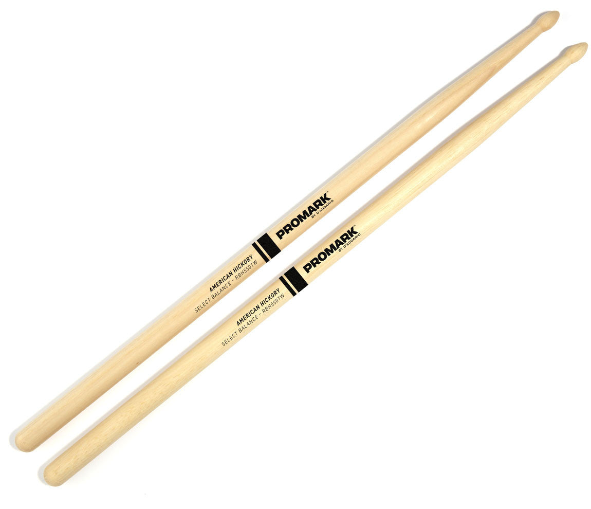 "Pro-Mark Rebound Balance Drum Stick, Wood Tip, .550"" (5A)"