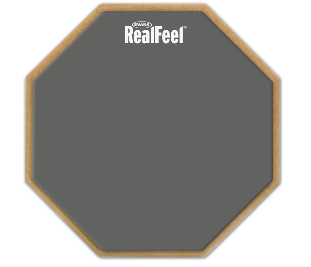 RealFeel by Evans 2-Sided Practice Pad, 6""