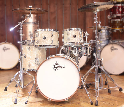 Gretsch Renown 4-Piece Groove Shell Pack in Vintage Pearl