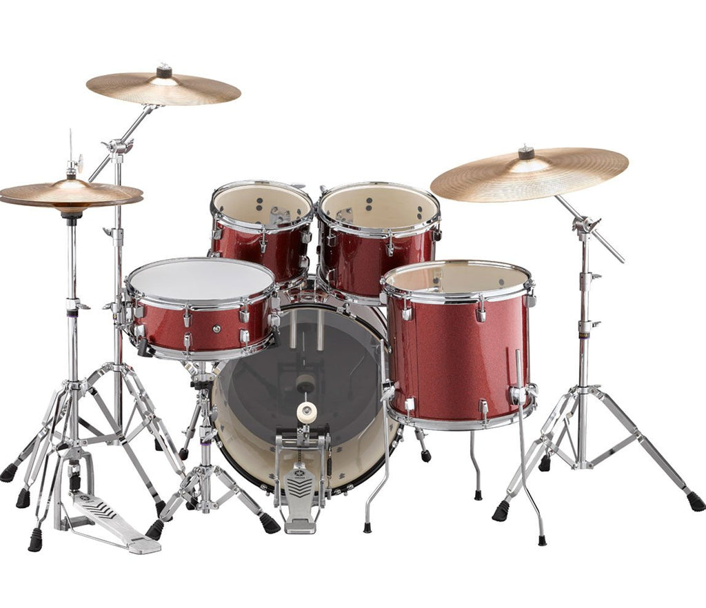 yamaha rydeen 20 rock fusion drum kit with hardware and cymbal pack i. Black Bedroom Furniture Sets. Home Design Ideas