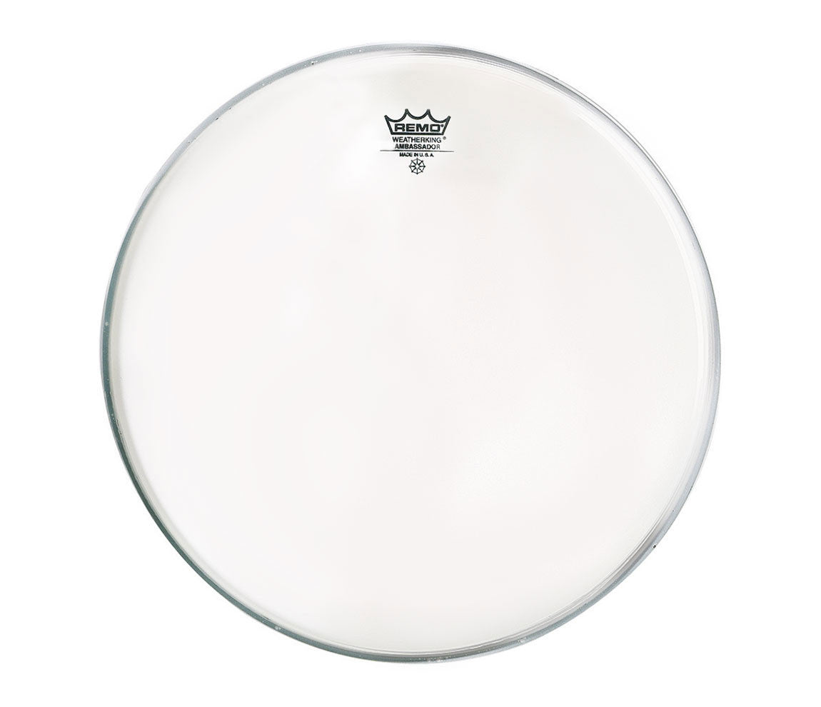"24"" Remo Ambassador bass drum head clear"