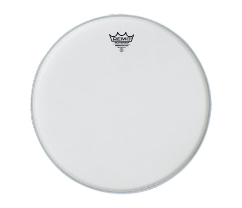 "Remo 6"" Ambassador Smooth White Tom Head"