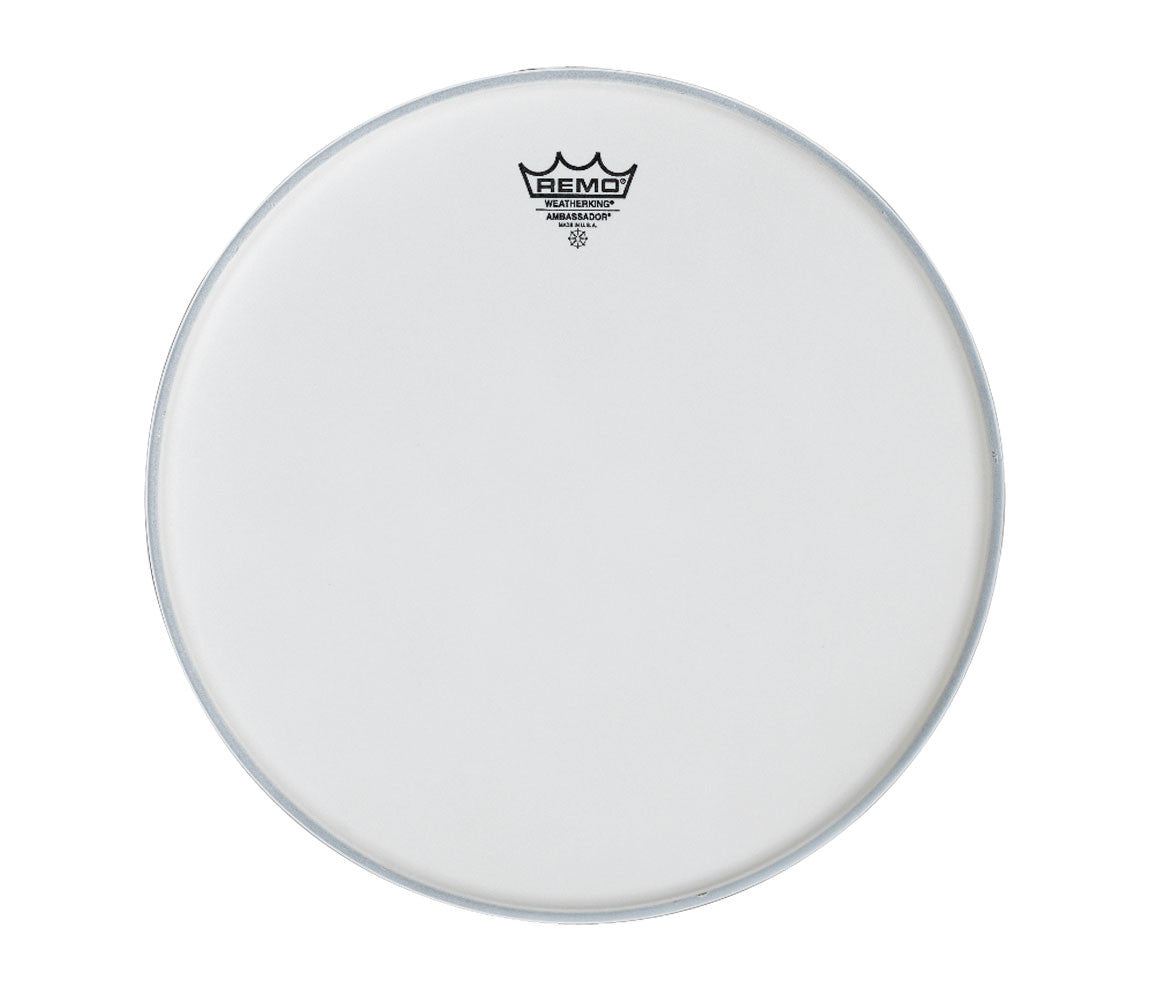 "Remo Ambassador 10"" Smooth white drum head"