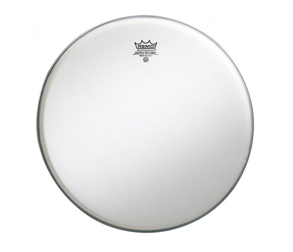"Remo 13"" Diplomat Coated Tom/ Snare Head."