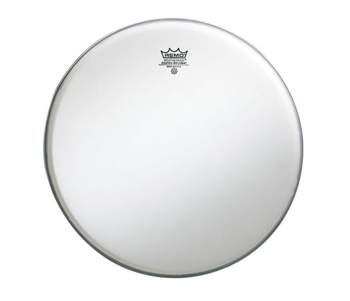 "Remo 10"" Diplomat Coated Tom Head."