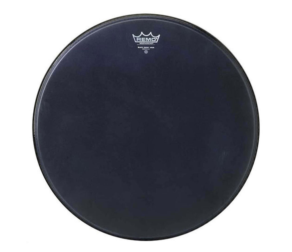 "Remo 6"" Emperor Ebony Suede Crimplock Marching Tom Head"