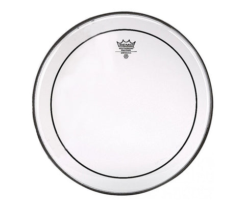 "Remo 12"" Pinstripe Clear Marching Tom Head"