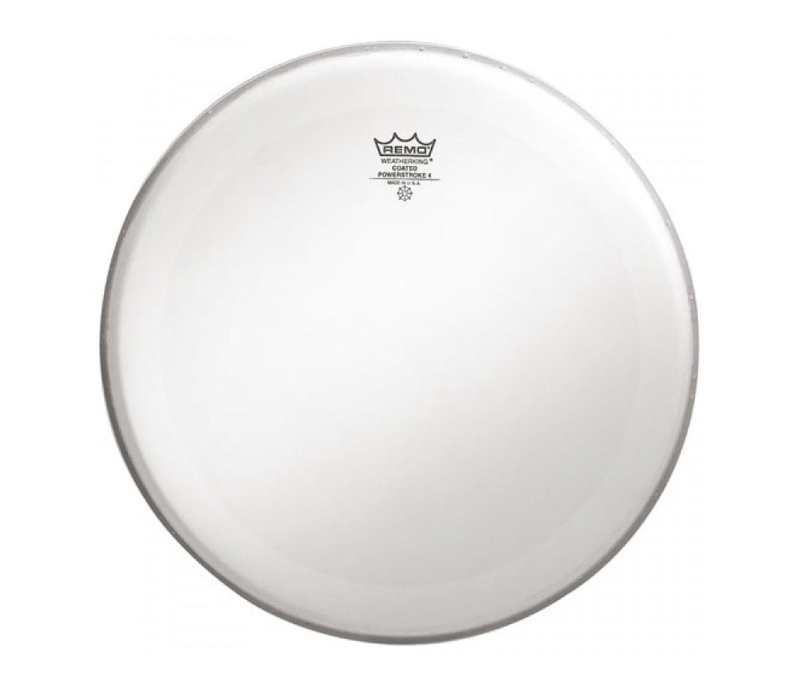 "Remo 32"" Powerstroke 4 Coated Bass Drum Head with double layer"