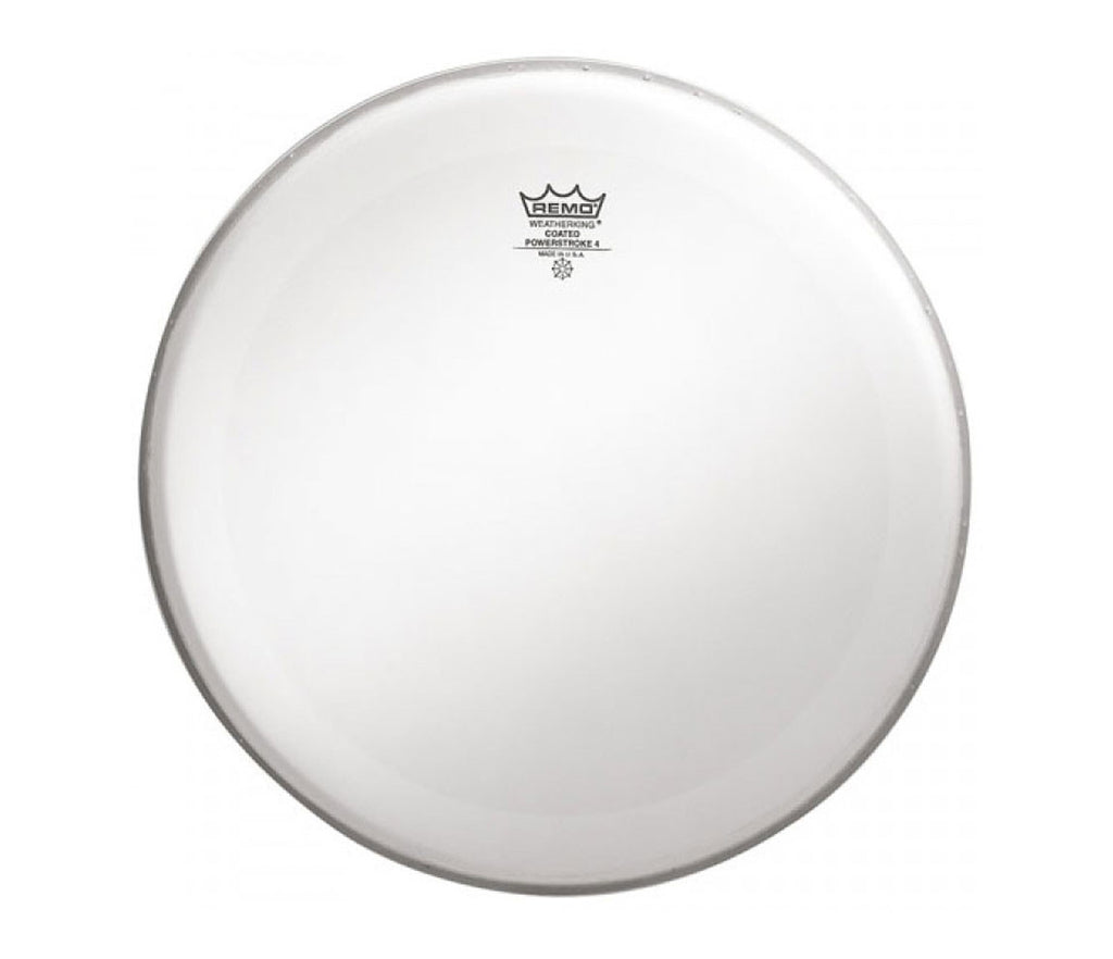 "Remo 24"" Powerstroke 4 Coated Bass Drum Head with double layer"