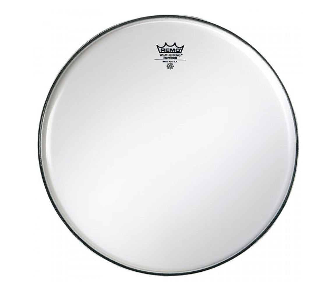 "Remo 24"" Emperor Smooth White Bass Drum Head"