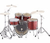 "Yamaha Rydeen 20"" Rock Fusion Drum Kit with Hardware in Burgundy Glitter, Yamaha, Acoustic Drum Kits, Finish: Burgundy Glitter, Glitter, Yamaha Music, Yamaha Rydeen"