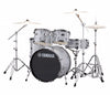 "Yamaha Rydeen 20"" Rock Fusion Drum Kit with Hardware in Silver Glitter, Yamaha, Acoustic Drum Kits, Finish: Silver Glitter, Glitter, Yamaha Music, Yamaha Rydeen"