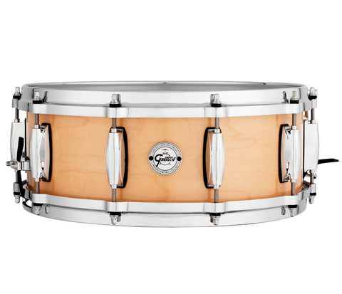 Gretsch S1-0514-MPL 10 Ply Natural Maple Snare Drum