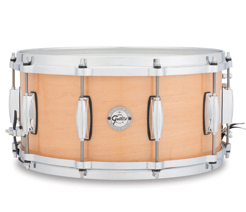 "Gretsch Silver Series Maple 14"" x 6.5"" Snare Drum"