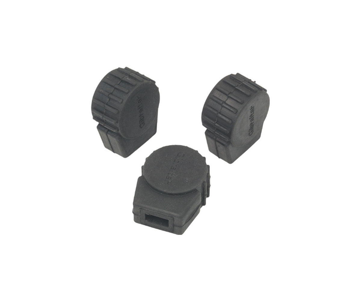 Gibraltar Small Round Rubber Feet SC-PC10 (3 per pack)