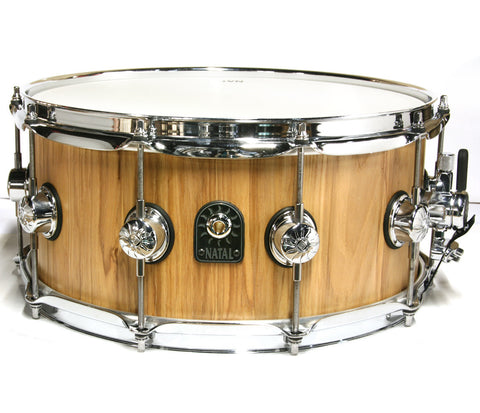 "Natal Pure-Stave 14"" x 6.5"" Ash Snare Drum"
