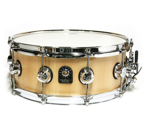 "Natal Pure-Stave 14"" x 5.5"" Maple Snare Drum"