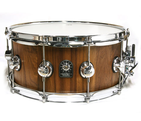 "Natal Pure-Stave 14"" x 6.5"" Walnut Snare Drum"