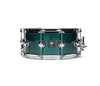 "Natal, Snare Drums, STW-S465-BRG, 14"" x 6.5"", British Racing Green, Natal Cafe Racer British Racing Green Tulip 14"" x 6.5"" Snare Drum"