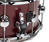 "Natal, Snare Drums, STW-S465-OBR, 14"" x 6.5"", Natal Cafe Racer Oxblood Red Tulip 14"" x 6.5"" Snare Drum, Oxblood Red"