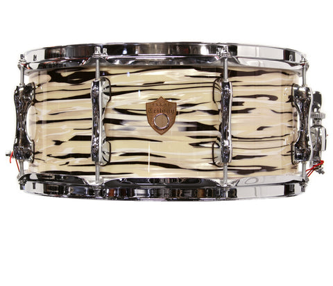 "Sakae Trilogy 14"" X 6.5"" Snare Drum In Mint Oyster Pearl"