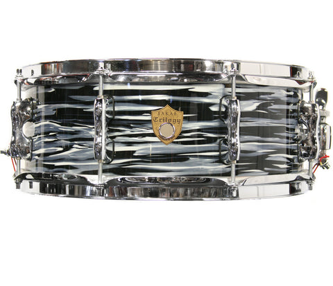 "Sakae Trilogy 14"" x 5.5"" Snare Drum In Black Oyster Pearl"