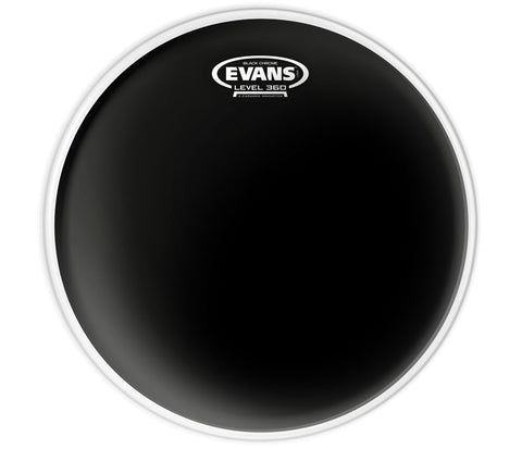 Evans Black Chrome Drum Head, 12""