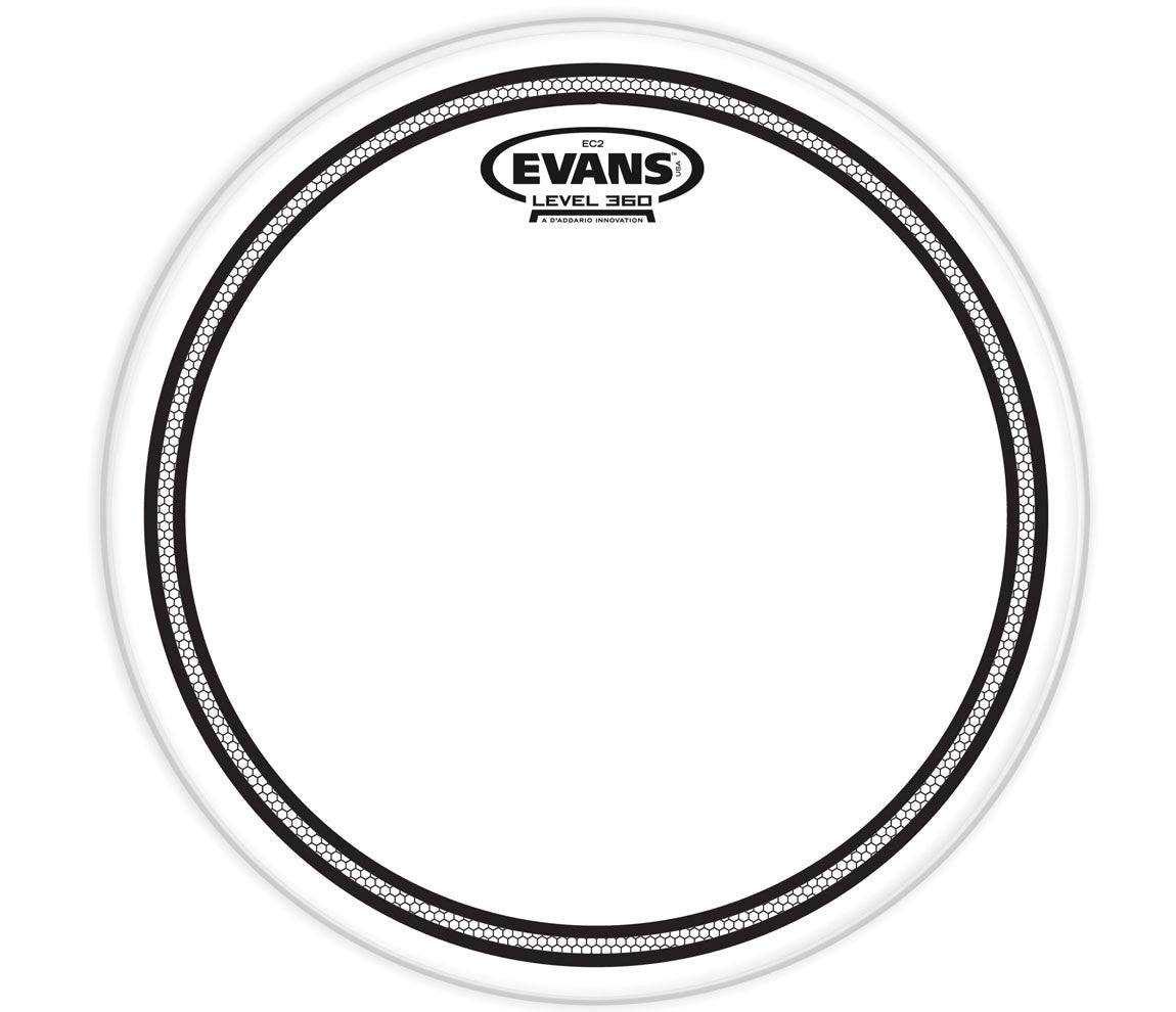 Evans EC2 Clear Drum Head, 10""