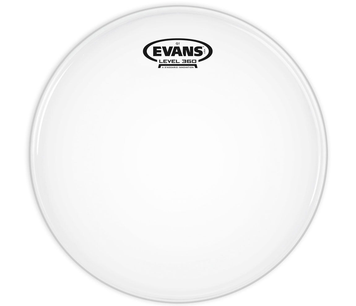 Evans G12 Clear Drum Head, 8""