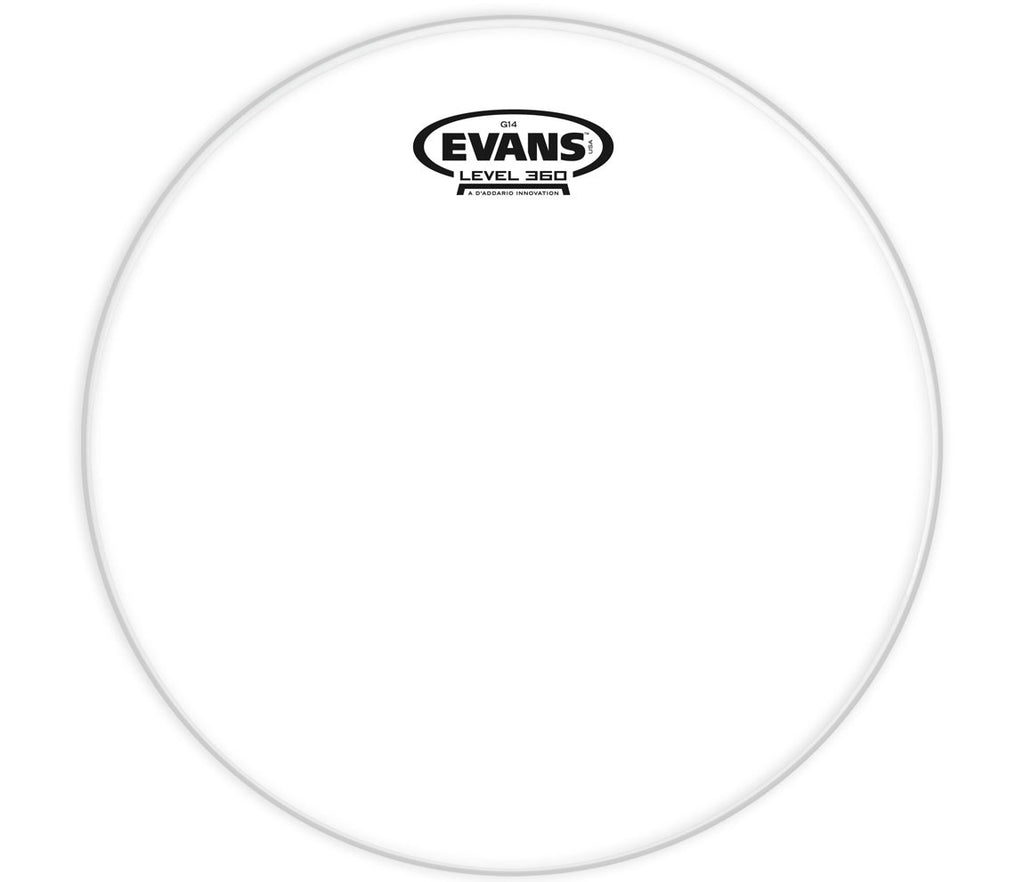 Evans G14 Clear Drum Head, 12""
