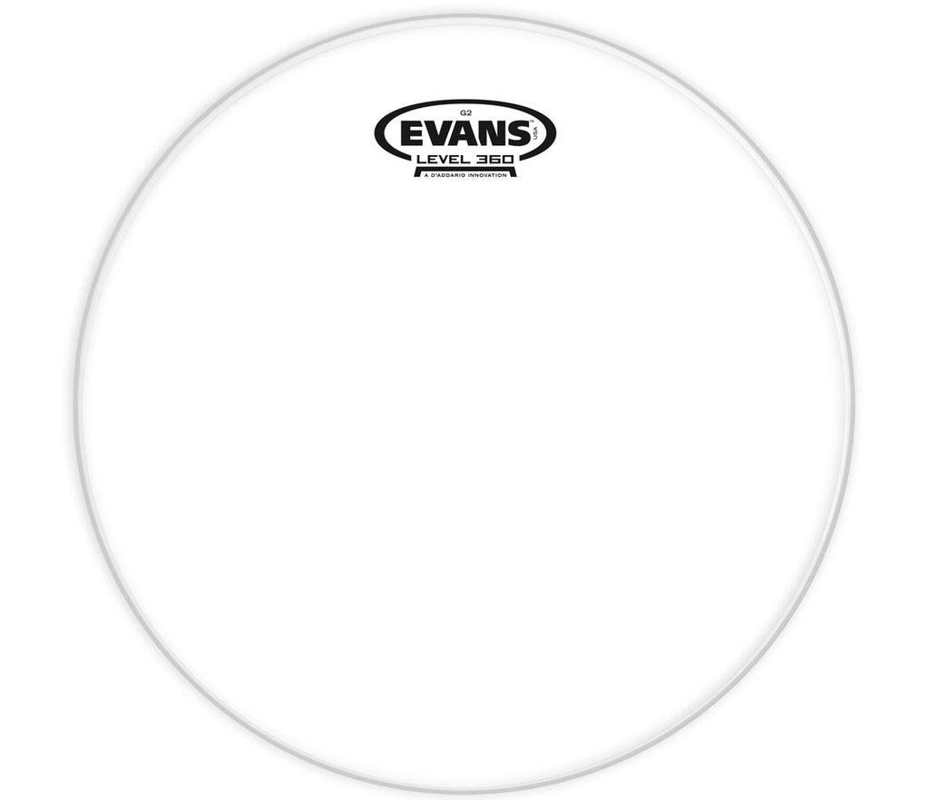 Evans G2 Clear Drum Head, 8""