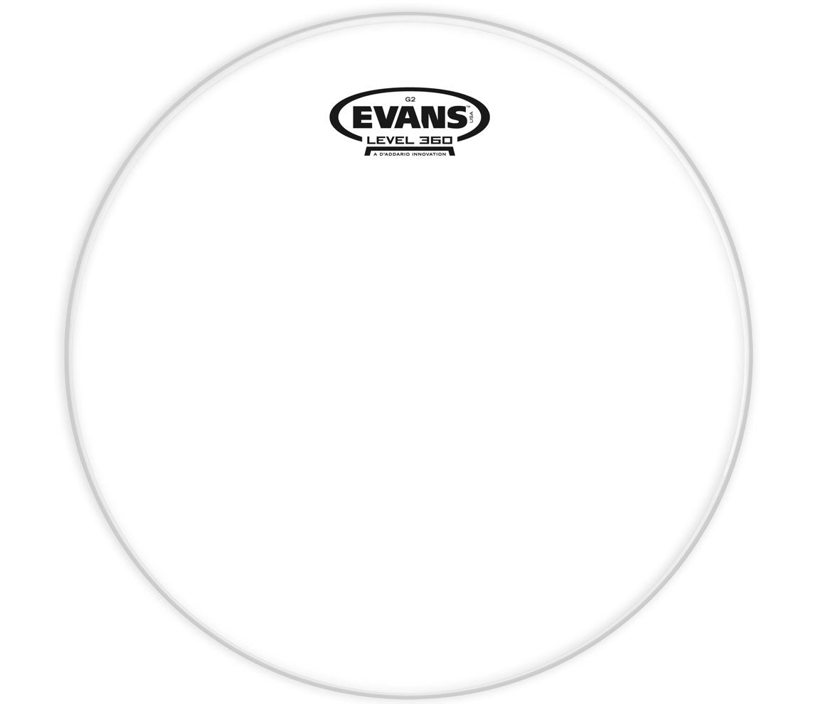 Evans G2 Clear Drum Head, 13""