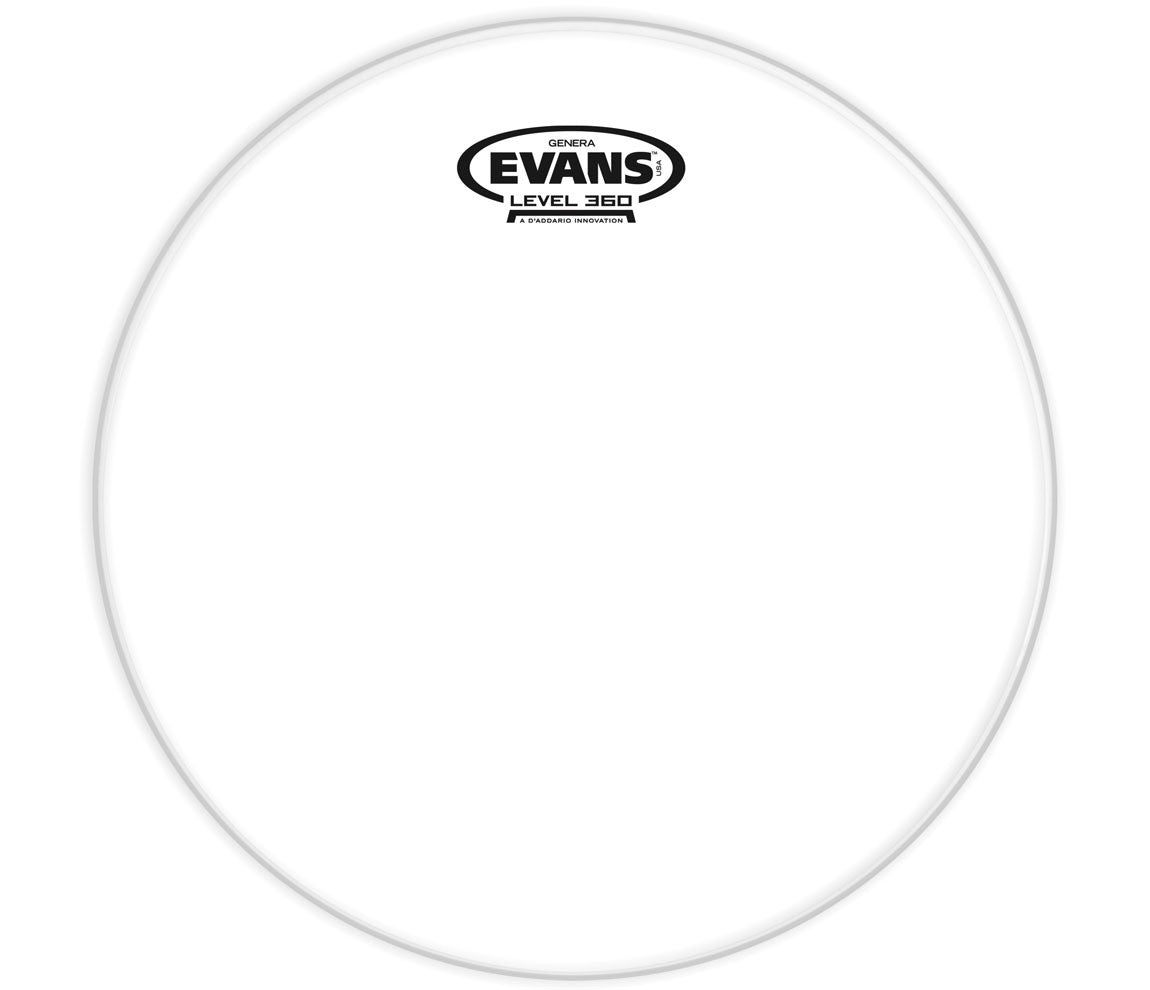Evans Genera Resonant Drum Head, 12""