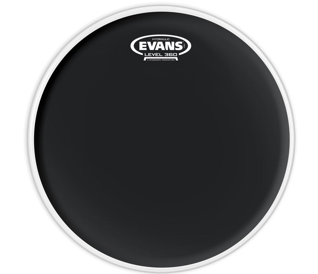 Evans Hydraulic Black Drum Head, 12""