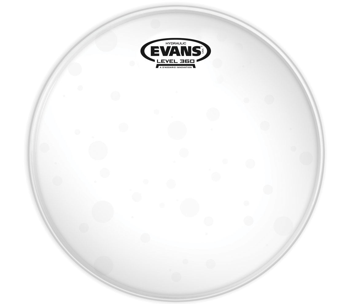 Evans Hydraulic Glass Drum Head, 12""