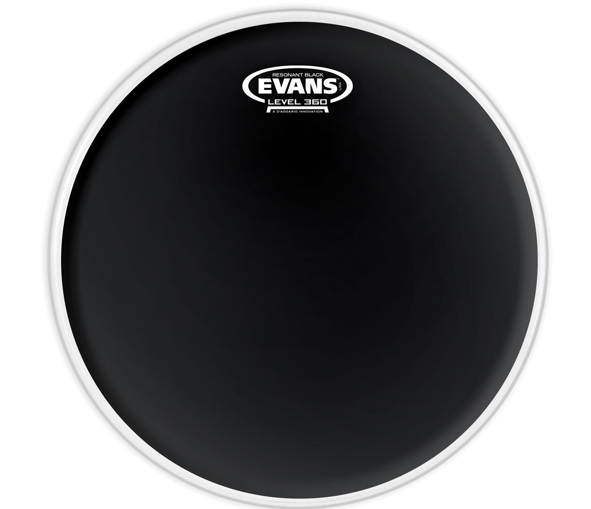 Evans Resonant Black Drum Head, 14""