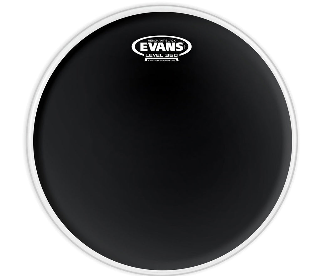 Evans Resonant Black Drum Head, 12""