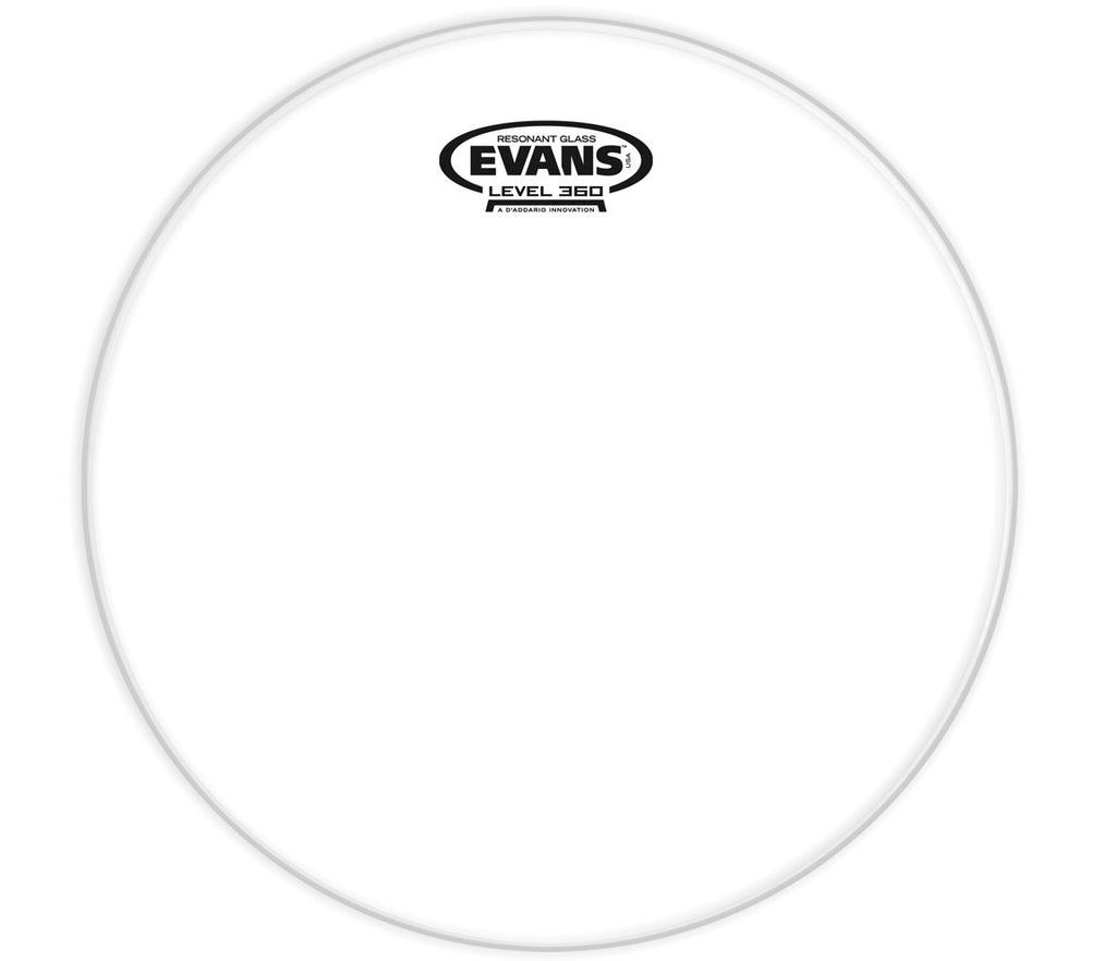 Evans Resonant Glass Drum Head, 6""