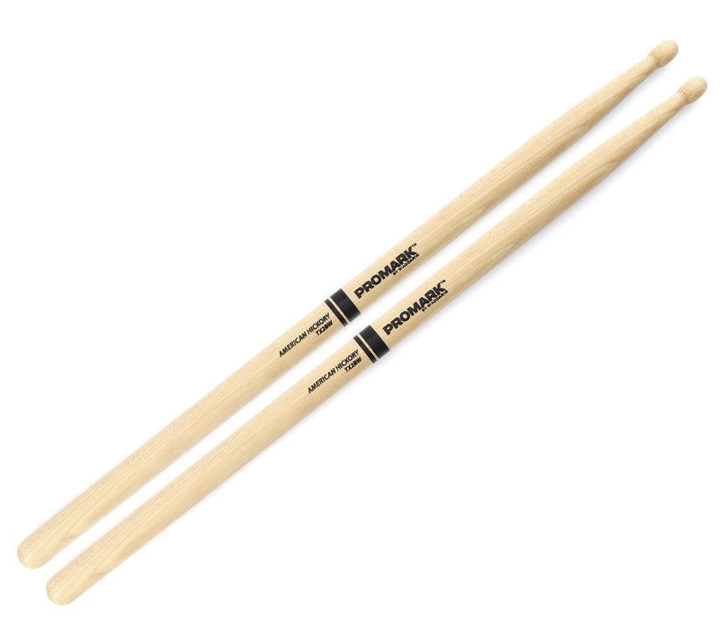 Pro-Mark Hickory 2B Wood Tip Drumstick