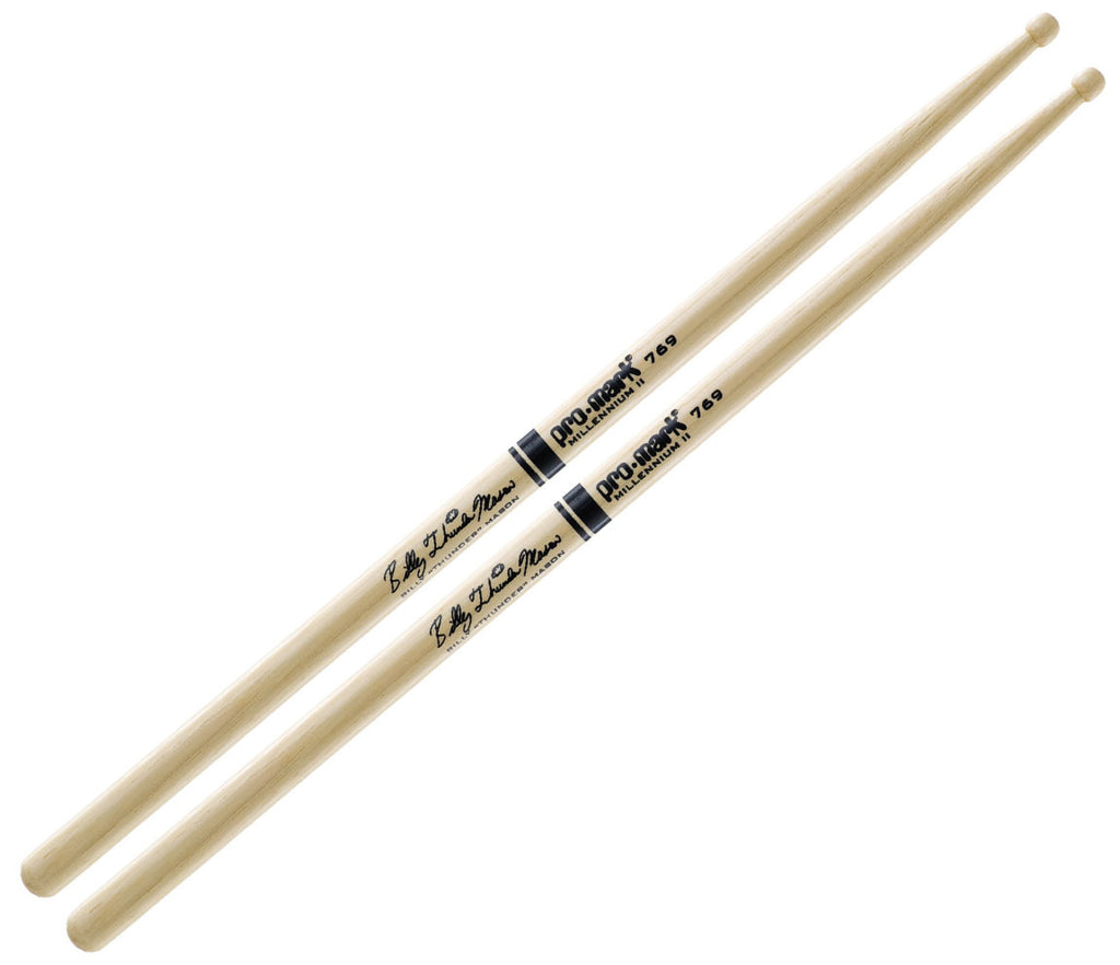 Pro-Mark Hickory 769 Wood Tip Billy Mason Drumstick