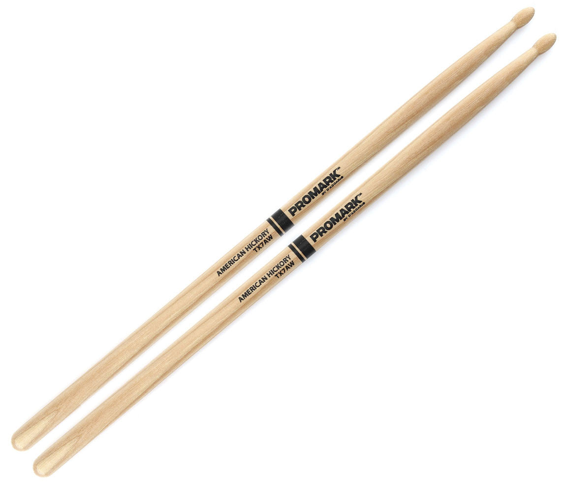 Pro-Mark Hickory 7A Wood Tip Drumstick