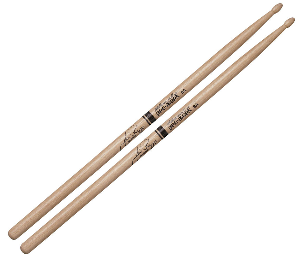 Pro-Mark Hickory 8A Wood Tip Jim Rupp Drumstick