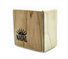 Natal WSK-SQ-A Square Wood Shaker in Ash, Vendor: Natal, Type: Shakers & Maracas, Square Wood Shaker, Finish: Ash