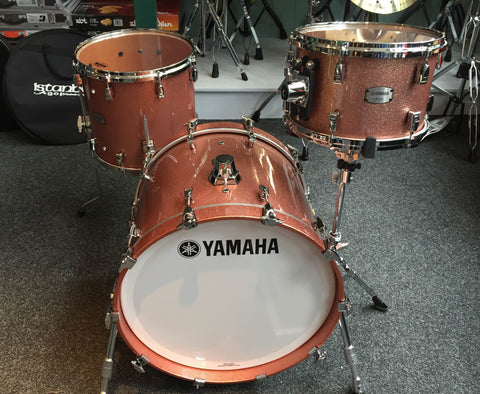 Yamaha Absolute Maple Hybrid 4-Piece Shell Pack In Champagne Sparkle